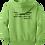 Thumbnail: Mandarin Christian Home Schoolers Youth Fleece Hoodie - Lime