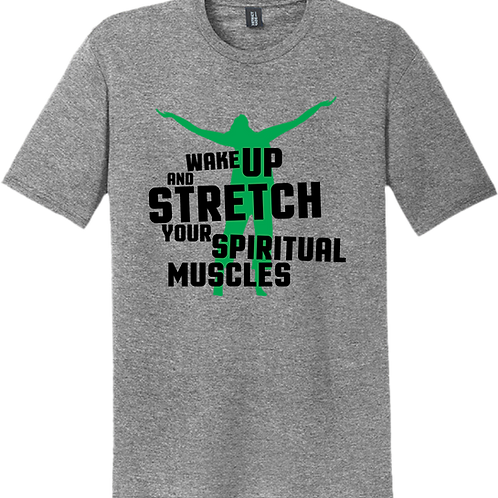 Wake Up and Stretch T-Shirt - Grey Frost