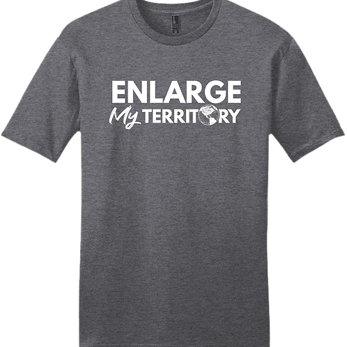 Enlarge My Territory - Charcoal Grey