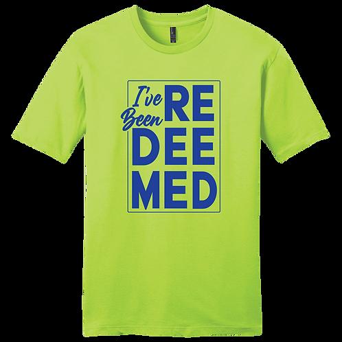I've Been Redeemed | T-Shirt - Lime