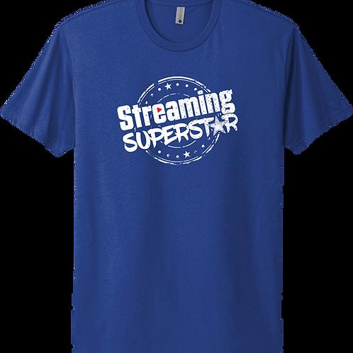 Streaming Superstar T-Shirt - Royal Blue