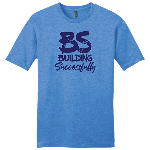 BS Puzzle T-Shirt - Heather Royal
