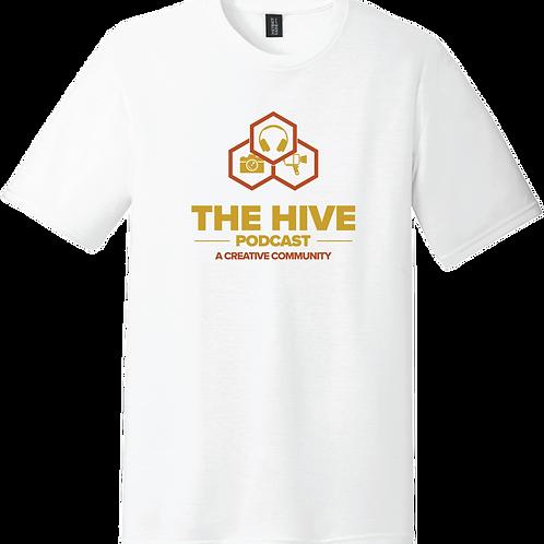 The Hive Podcast T-Shirt - White