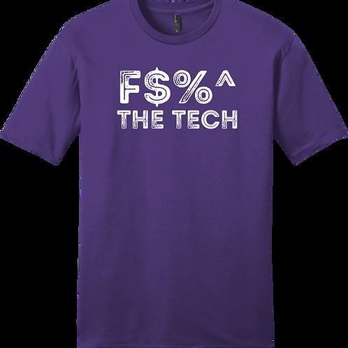 F$%^ The Tech T-Shirt - Purple