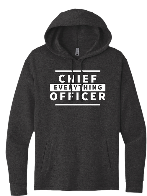 Chief EVERYTHING Officer Hoodie - Heather Black
