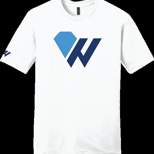 "Worthy ""W"" T-Shirt - White"