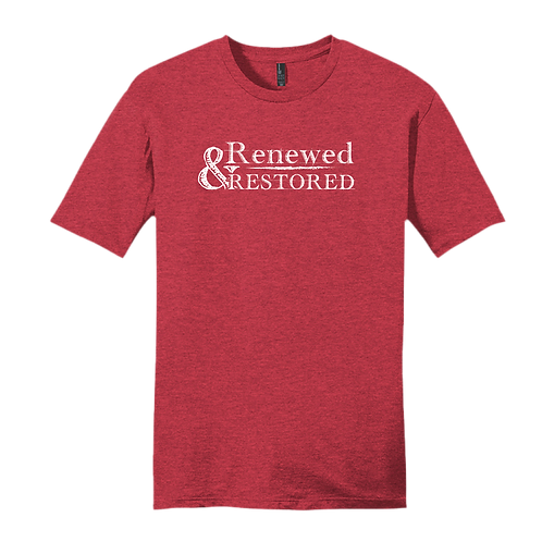 Renewed and Restored - Heather Red