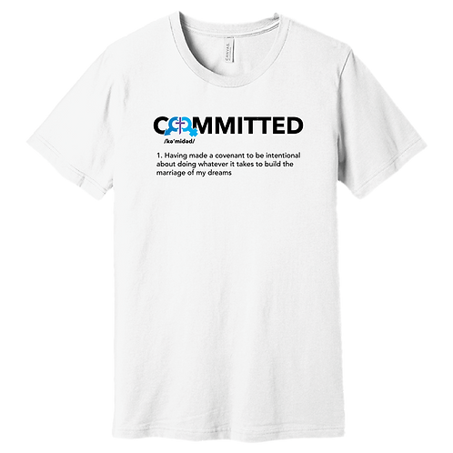 Committed   T-Shirt - White