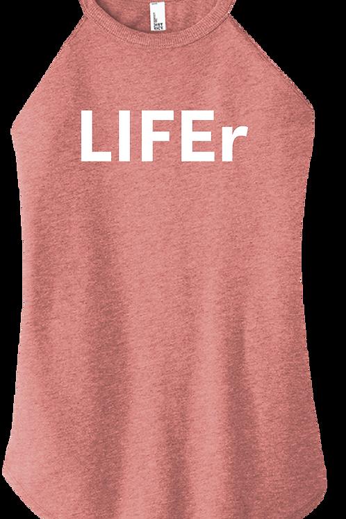 LIFEr Ladies Tank - Blush Frost