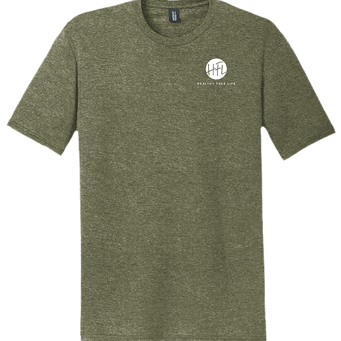 HFL Left Chest T-Shirt - Military Green Frost