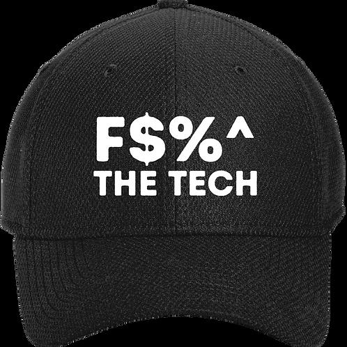 F$%^ The Tech Diamond Stretch Cap - Black
