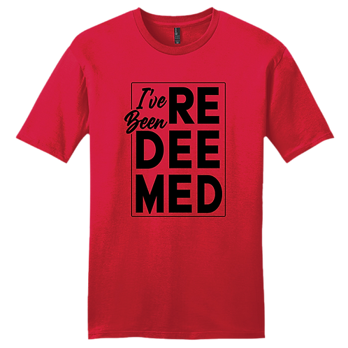 I've Been Redeemed | T-Shirt - Red