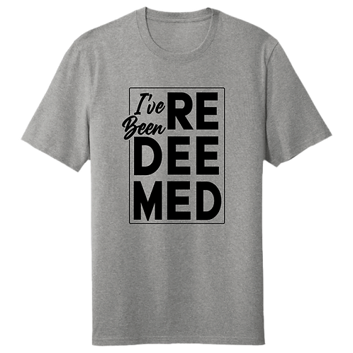 I've Been Redeemed | T-Shirt - Heather Grey
