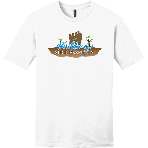 Building Successfully T-Shirt - White