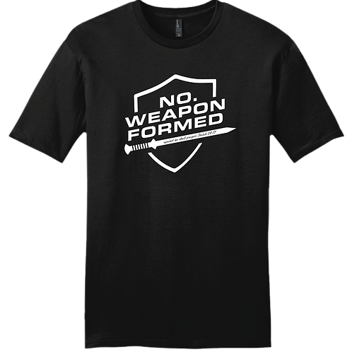 No Weapon Formed T-Shirt - Black