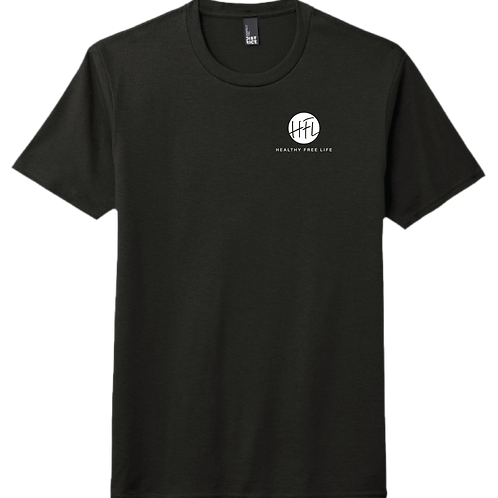 HFL Left Chest T-Shirt - Black