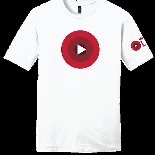 Confident Live - Official  T-Shirt - White