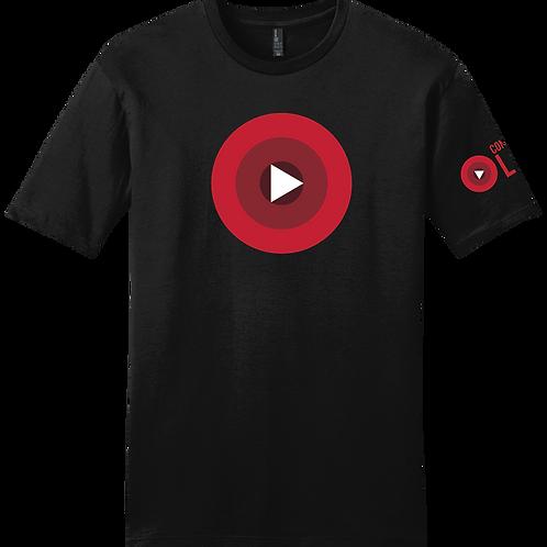 Confident Live - Official  T-Shirt - Black