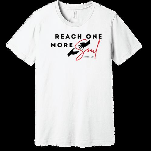 Reach One More Soul T-Shirt - White