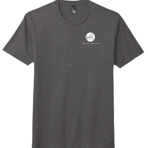 HFL Left Chest T-Shirt - Heather Charcoal