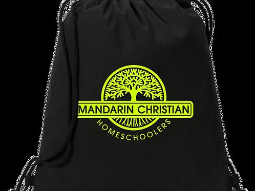 Mandarin Christian Home Schoolers Cinch Bag - Black