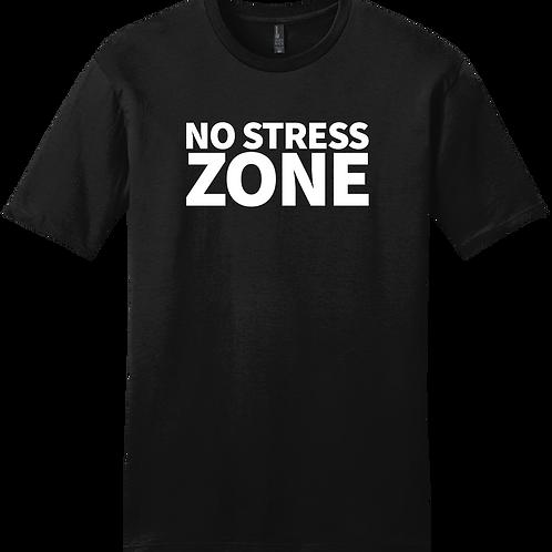 No Stress Zone T-Shirt - Black