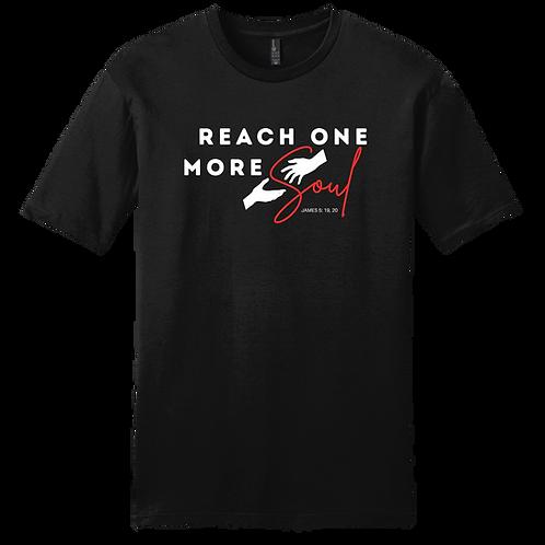 Reach One More Soul T-Shirt - Black