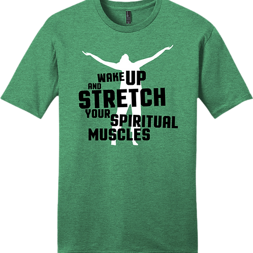 Wake Up and Stretch T-Shirt - Kelly Green