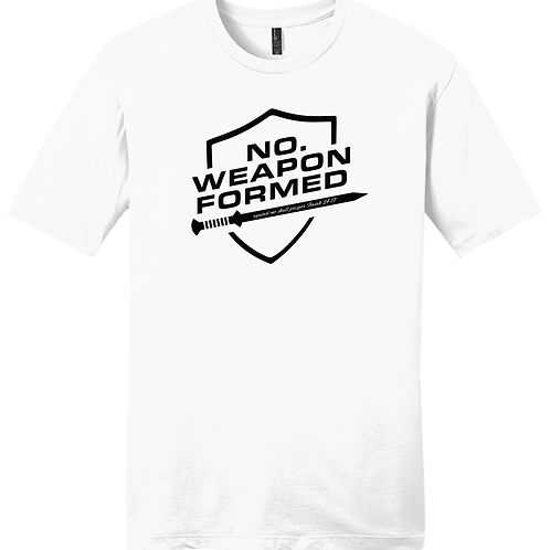 No Weapon Formed T-Shirt - White