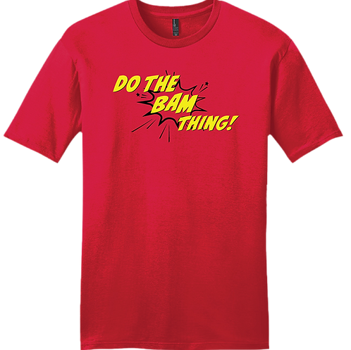DO THE BAM THING! T-Shirt - Red