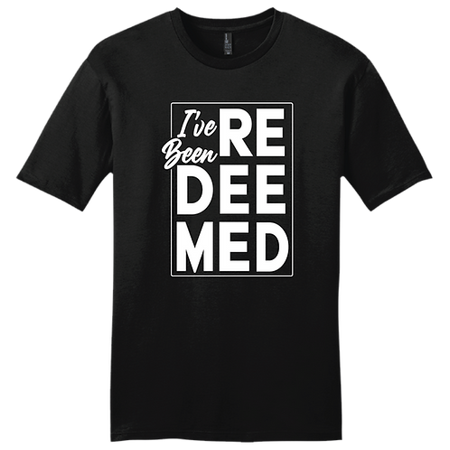 I've Been Redeemed | T-Shirt - Black