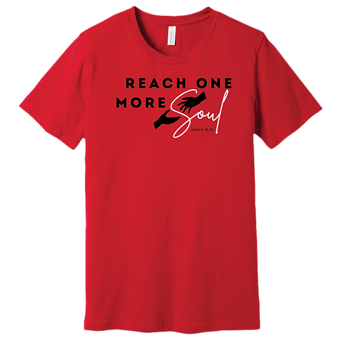 Reach One More Soul T-Shirt - Red