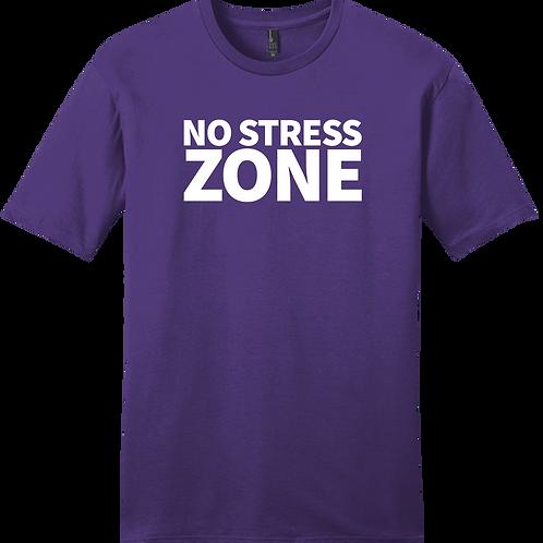No Stress Zone T-Shirt - Purple