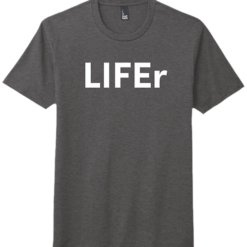 LIFEr T-Shirt - Heather Charcoal
