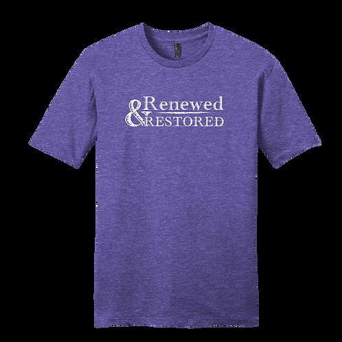 Renewed and Restored - Heather Purple