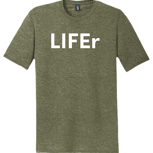 LIFEr T-Shirt - Military Green Frost
