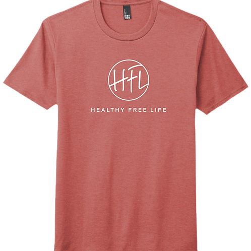 Healthy Free Life T-Shirt - Blush Frost