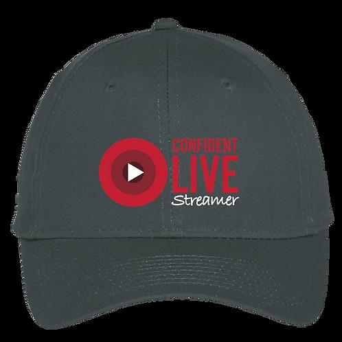 Confident Live Streamer - Trucker Hat - Black