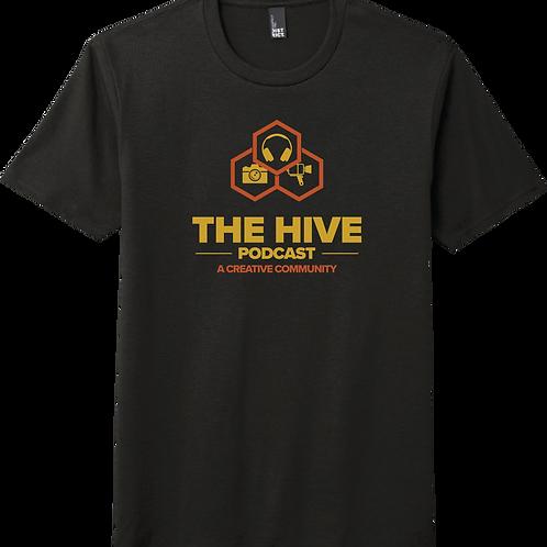 The Hive Podcast  T-Shirt - Black