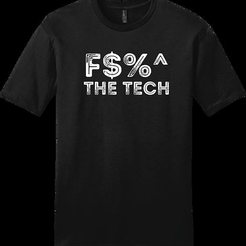 F$%^ The Tech T-Shirt - Black