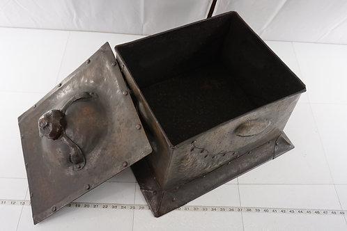 Arts And Crafts Copper Coal Box