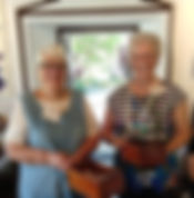 2019 dec 29  marjorie and lois with coll