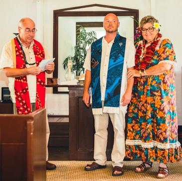 Pastor Larry Craig, Pastor Joe & Keala Stevens