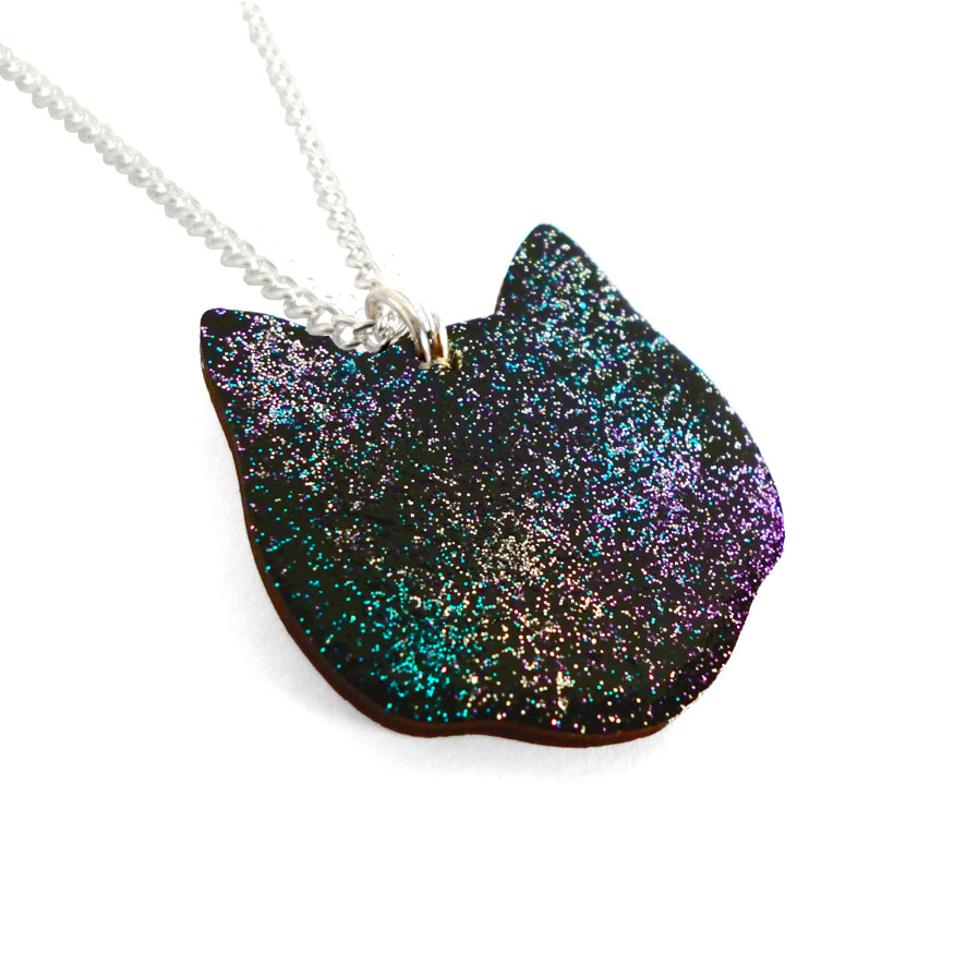 Cosmic Cat side 1 - Lynsey Luu Jewellery