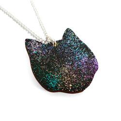 Cosmic Cat side 1 - Lynsey Luu Jewellery