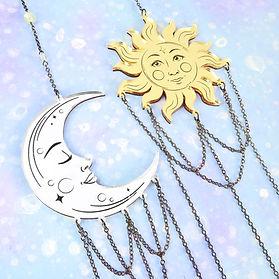 Celestial Moon & Sun Close - Large La Lu