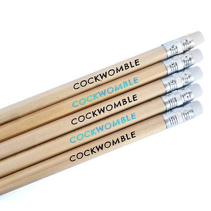 COCKWOMBLE PENCILS