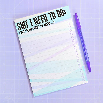 A5 To Do Notepad LL