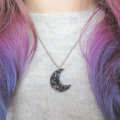Moon Charm Necklace LL