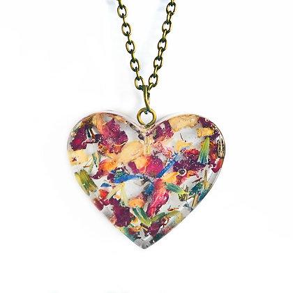 RESIN FLOWER - HEART NO.5